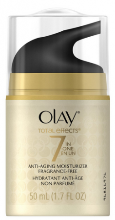 OLAY Total Effects 7-In-1 Anti-Aging Daily Moisturizer Fragrance Free 1.70 oz [075609001772]