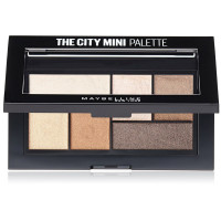 Maybelline The City Mini Eyeshadow Palette, Rooftop Bronzes 0.14 oz [041554499742]