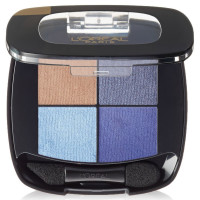 L'Oreal Paris Colour Riche Eye Pocket Palette Eye Shadow, Bleu Nuit, 0.1 oz [071249313046]