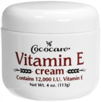 Cococare Vitamin E Cream 4 oz [075707040758]