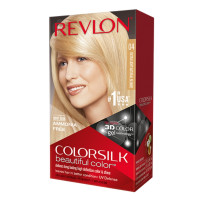 Revlon ColorSilk Beautiful Permanent Color, [04] Ultra Light Natural Blonde 1 ea [309977326046]