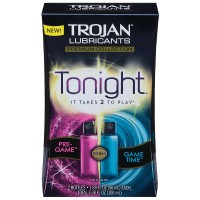 TROJAN Premium Collection Tonight Lubricants, 1.69 oz, 2 ea [022600000112]