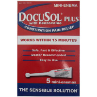 DocuSol Plus with Benzocaine Mini-Enema 5 ea [317433000010]