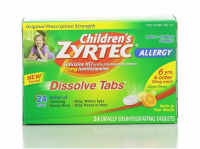 Zyrtec Children's 24 Hour Allergy Dissolve Tabs, Citrus 24 ea [300450242259]