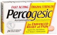 Percogesic Tablets 24 Tablets  [Acetaminophen/Diphenhydramine] [375137904928]