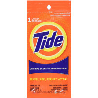 Tide Travel Size Detergent, Original Scent 1.80 oz [083725849000]