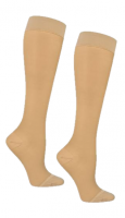 Dr. Scholl's Graduated Compression Knee High Therapeutic Sock for Women 15-20Mmhg, Beige, Large 1 ea [042825534780]