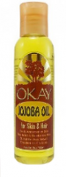 Okay Jojoba Oil for Hair & Skin, 2 oz [810367015445]