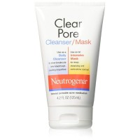 Neutrogena Clear Pore Cleanser/Mask 4.20 oz [070501060001]