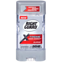 Right Guard Xtreme Odor Combat Gel Antiperspirant, Surge 4 oz [017000135236]