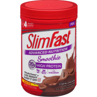 Slim-Fast Advanced Nutrition High Protein Smoothie Powder, Creamy Chocolate 11.01 oz [008346790012]