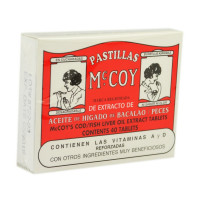 Pastillas McCoy Cod / Fish Liver Oil Extract Tablets 40 ea [031088770400]