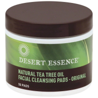 Desert Essence Facial Cleansing Pads, Natural Tea Tree Oil 50 ea [718334220406]