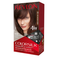 Revlon ColorSilk Hair Color, [32] Dark Mahogany Brown 1 ea [309978695325]