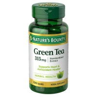 Nature's Bounty Green Tea Extract 315 mg Capsules 100 ea [074312331312]