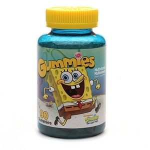 Nickelodeon SpongeBob SquarePants Multivitamin Multimineral Gummies 90 Each [636652916712]