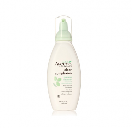 AVEENO Active Naturals Clear Complexion Foaming Cleanser 6 oz [381370036913]