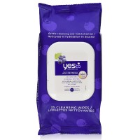 Yes to Blueberries Age Refresh Cleansing Facial Towelettes 25 ea [815921013363]