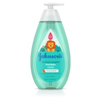 JOHNSON'S No More Tangles Tear Free Toddler & kids Detangling Shampoo, Paraben Free 20.3 oz [381371177400]