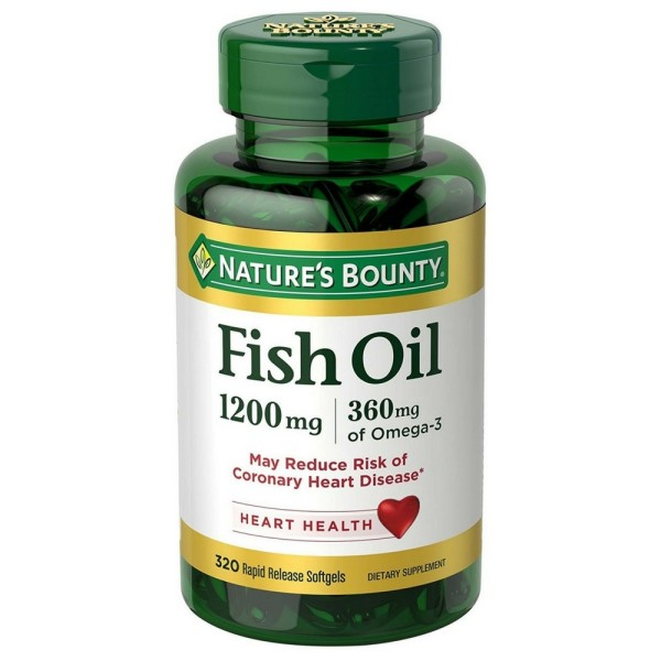 Nature 39 s bounty omega 3 fish oil pharmapacks for Nature s bounty fish oil review
