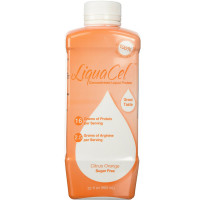 Liquacel Concentrated Liquid Protein, Sugar Free, Citrus Orange 32 oz [782028000926]