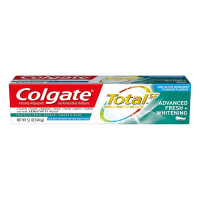 Colgate Total Whitening Toothpaste, Advanced Fresh Plus Whitening Gel, 5.1 oz  [035000460288]