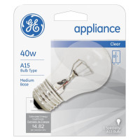 General Electric Appliances 40W, 15 Amp Bulb 1 ea [043168907071]