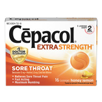 Cepacol Maximum Strength Throat Drop Lozenges, Honey Lemon, 16 ct [363824730165]