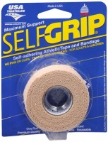 Self-Grip Self-Adhering Athletic Tape Bandage 1 Inch, Beige 1 ea [078509013517]