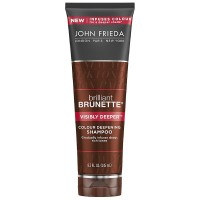 John Frieda Brilliant Brunette Colour Deepening Shampoo, Visibly Deeper 8.30 oz [717226224690]
