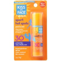 Kiss My Face Sport Hot Spots Sunscreen Stick SPF 30 0.50 oz [028367832157]