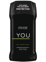 Axe  Antiperspirant Deodorant Stick for Men You 2.7 oz [079400700216]