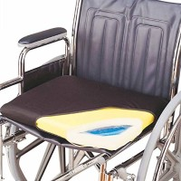 "Skil-Care Gel-Foam Wheelchair Cushion, 18x16"" with Cloth Cover - 1 ea [671509141008]"