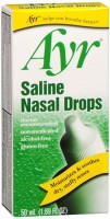Ayr Saline Nasal Drops 50 mL [302250382807]