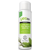 Yes To Tea Tree & Sage Oil Scalp Relief Shampoo 12 oz [815921017514]