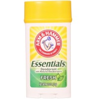 ARM & HAMMER Essentials Natural Deodorant, Fresh 2.5 oz [033200190202]