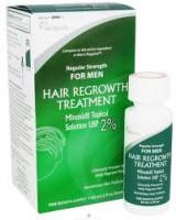 Minoxidil  2% Regular Strength Hair Regrowth Treatment Solution 2 oz [1 month supply] [304720066736]