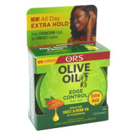 ORS Olive Oil Edge Control Gel, Extra Hold 2.25 oz [632169111763]