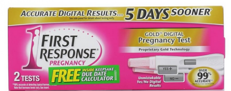 FIRST RESPONSE Gold Digital Early Result Pregnancy Tests 2 Each [022600901402]
