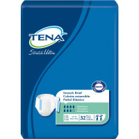 TENA Stretch Ultra Brief, 2X-LARGE, Tab Closure, Disposable Heavy Absorbency, 61390 32 ea [768702613903]