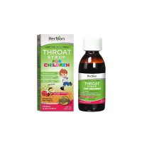 Herbion Naturals Throat Syrup For Children, 5 oz [040232176364]