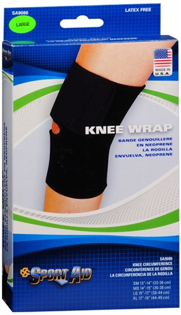 Sport Aid Knee Wrap Large 1 Each [763189215527]