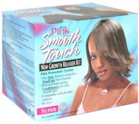 Luster's Pink Smooth Touch New Growth Relaxer Kit, Super Formula 1 kit [038276005788]