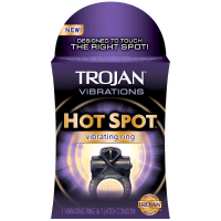 TROJAN Vibrations Hot Spot Vibrating Ring 1 ea [022600906674]