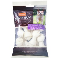 Hartz Natural Mini Bone Rawhide Chew Small Dog Treat 2.80 oz 10 ea [032700869878]