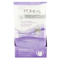 Pond's Wet Cleansing Towelettes, Evening Soothe, 30 ea [305210089792]