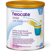 Neocate Junior with Prebiotics, Strawberry, 14.1 oz [749735064566]