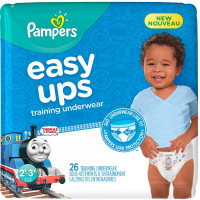 Pampers Easy Ups Training Underwear Boys, Size 2T-3T 26 ea [037000959922]