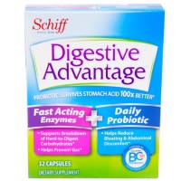 Digestive Advantage Fast Acting Enzymes Plus Daily Probiotic Capsules 32 ea [020525970220]