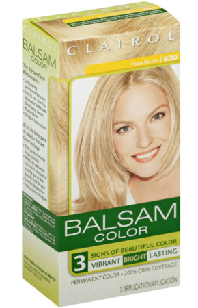 Balsam Permanent Color - 600 Palest Blonde 1 Each [070018116086]